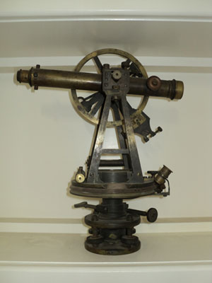 Antique Theodolite Surveying Tool